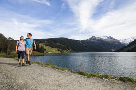 Hiking in the Zillertal