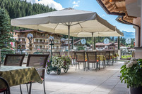 Sunny terrace, Landhotel Maria Theresia