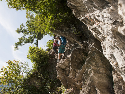 Via FerratasClimbing high - via ferrata for professionals and families!